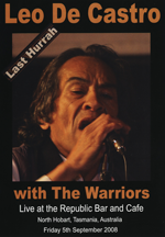 DVD cover of Leo De Castro - Last Hurrah with The Warriors